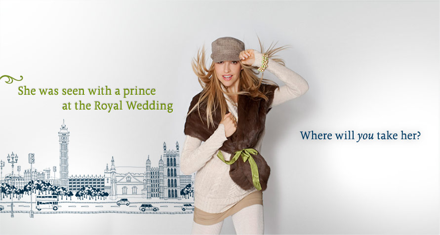 She was seen with a price at the Royal Wedding